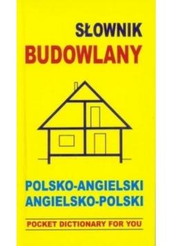 Słownik budowlany. Polsko-angielski, angielsko-pol