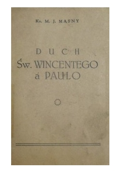 Duch Św. Wincentego a Paulo