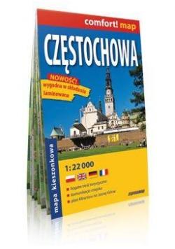Comfort!map Częstochowa midi 1:22 000 plan miasta