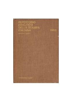 Repertorio analitico della stampa italiana