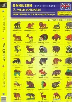 English. Find the pair 5. Wild Animals w. 2015
