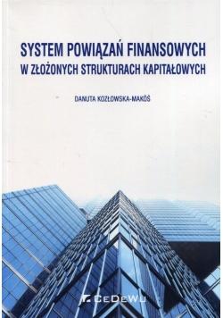 System powiązań finansowych w złożonych strukturach kapitałowych