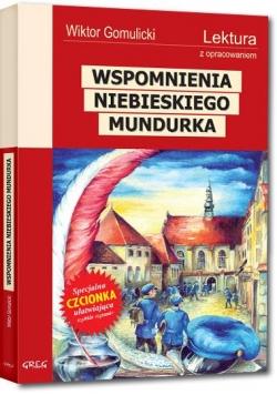 Wspomnienia niebieskiego mundurka z oprac. GREG