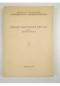 Prace językoznawcze, zeszyt 3 (filologia, zeszyt VI)