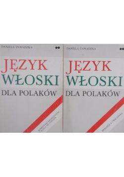 Język włoski dla Polaków- 2 książki