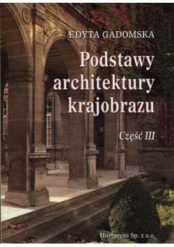 Podstawy architektury krajobrazu Część 3