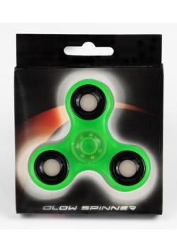 Spinner glow - świecący zielony STRIGO