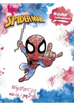 Wodne kolorowanie. Spider-Man