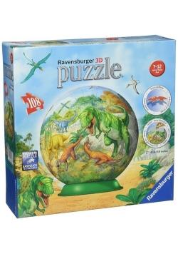 Puzzle 3D Dinozaury 108