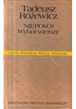 Niepokój, wybór wierszy z lat 1944-1994