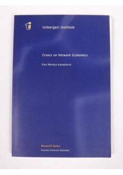 Essays on Network Economics