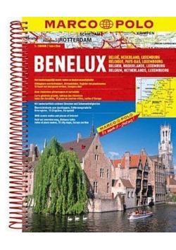 Atlas Marco Polo. Benelux 1:200 000
