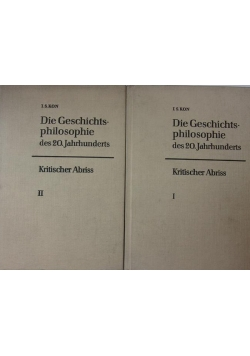 Die Geschichtsphilosophie 2 tomy