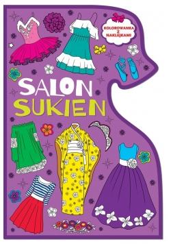 Kolorowanki Salon sukien