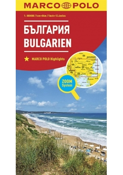 Mapa ZOOM System. Bułgaria 1:800 000 plan miasta