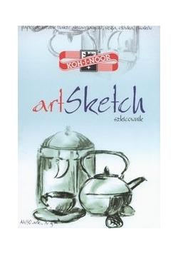 Blok szkicowy Art Sketch A4 50 arkuszy, Nowa