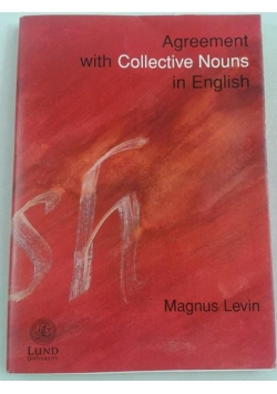 Agreement with Collective Nouns in English