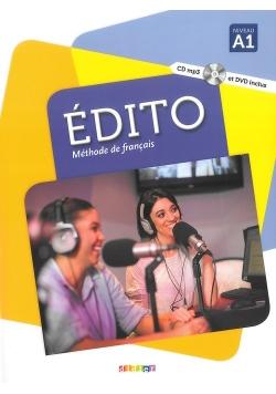 Edito A1 podręcznik+CDMP3+DVD