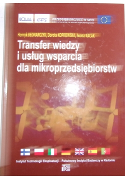 Transfer wiedzy i usług wsparcia dla mikroprzedsiębiorstw