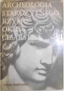 Archeologia starożytnego Rzymu okres cesarstwa, Tom 2.