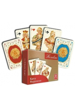 Zestaw kart pasjansowych mini Rosaline