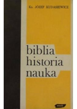 Biblia historia nauka
