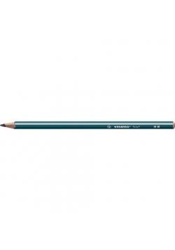 Ołówek Trio HB petrol (12szt) STABILO