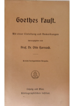 Goethes faust, ok. 1920r.