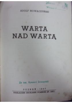 Warta nad Wartą, 1937 r.