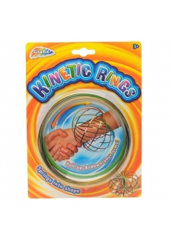 Kinetic rings rainbow