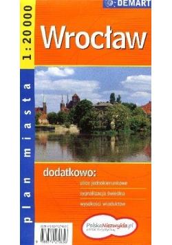Wrocław. Plan miasta 1:20 000 DEMART