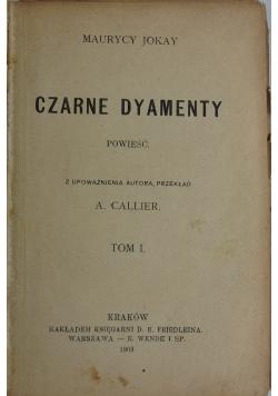 Czarne dyamenty, tom I,1903 r.