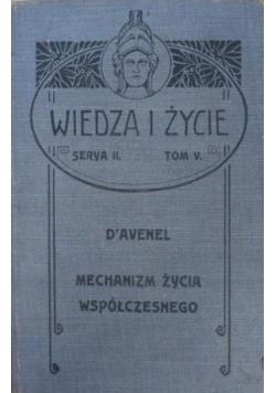 Mechanizm życia współczesnego, 1901 r.