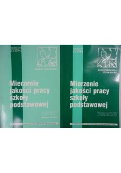 Mierzenie jakości pracy szkoły podstawowej ,Zestaw 2 książek