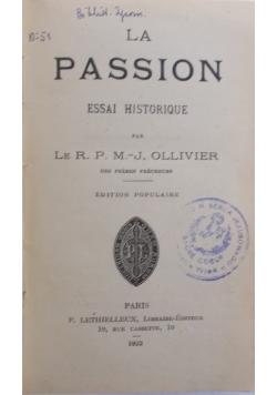 La Passion , 1922 r.