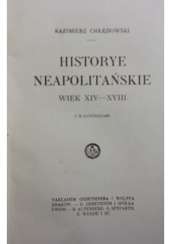 Historye neapolitańskie  wiek XIV-XVIII