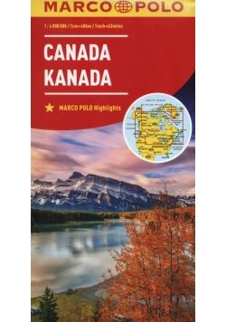 Kanada 1:4 000 000