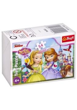 Puzzle 54 mini Magiczny świat księżniczki 1 TREFL