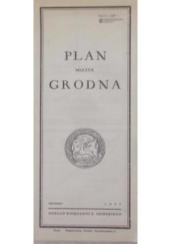 Plan miasta Grodna, 1937 r.