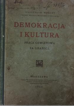 Demokracja i kultura ,1930r.
