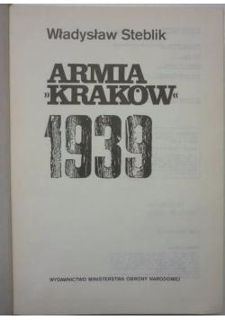 Armia Kraków 1933 + mapy