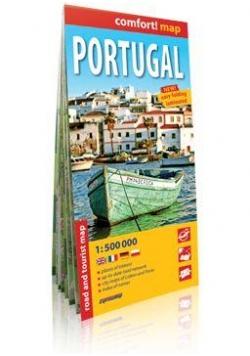 Comfort!map Portugal (Portugalia) 1:500 000 mapa