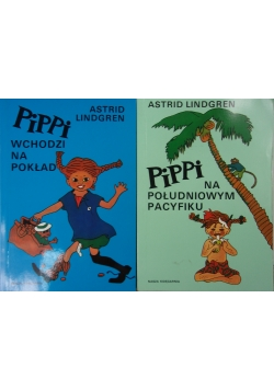 Pippi..., 2 książki