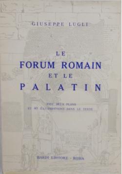 Le forum Romain et le Palatin