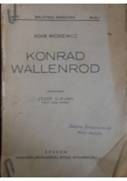 Konrad Wallenrod, 1924r.