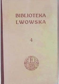 Biblioteka Lwowska, t. IV