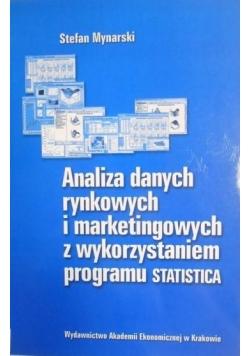 Analiza danych rynkowych i marketingowych z wykorzystaniem programu Statistica