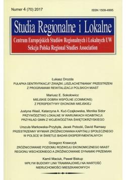 Studia Regionalne i Lokalne nr 4 2017