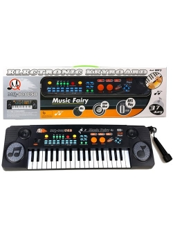 Keyboard Organy z mikrofonem MQ-803 MP3