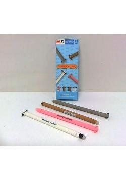 Długopis usuwalny niebieski Uszaki (12szt) HAPPY